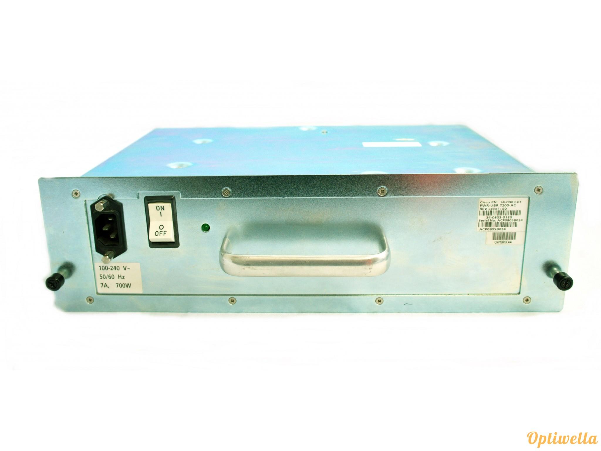Cisco PWR-UBR7200-AC uBR7246VXR AC Power Supply   Power supply