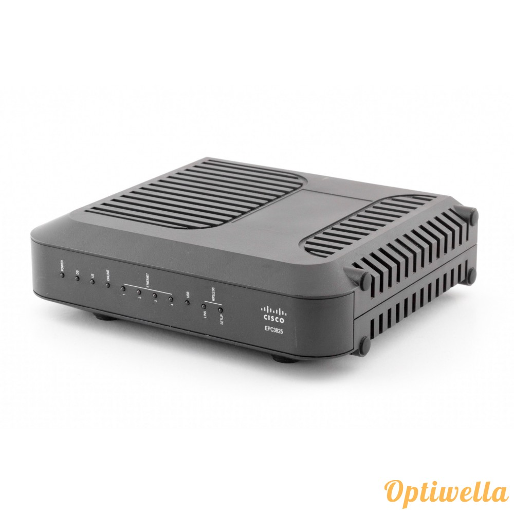 cisco model epc3825 8x4 docsis 3 0 wireless residential gateway modem rh shop optiwella com